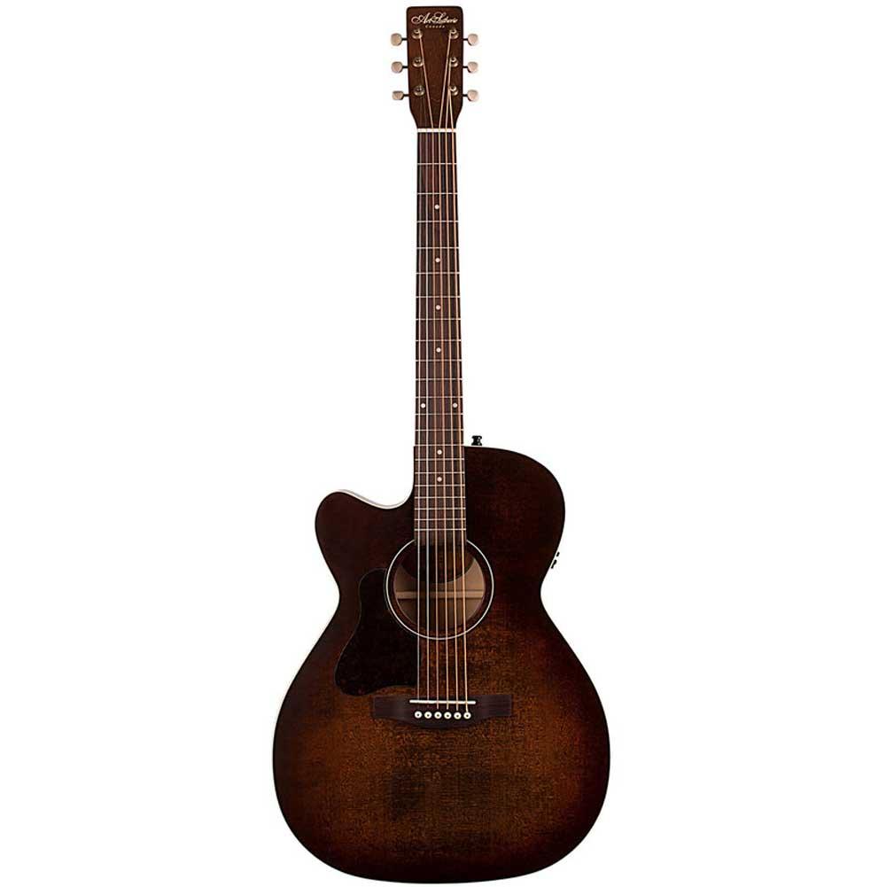 A&L Legacy Bourbon Burst QIT LEFT western-guitar, ventrehåndet