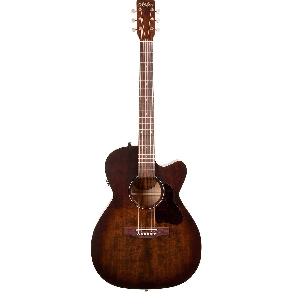 Image of   A&L Legacy Bourbon Burst CW QIT western-guitar burst