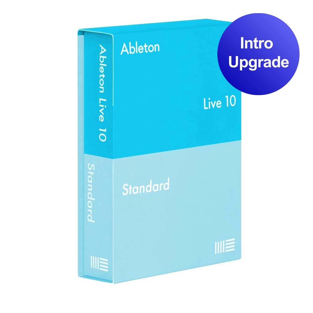 Image of   Ableton Live 10 Standard upgrade from Live Intro software