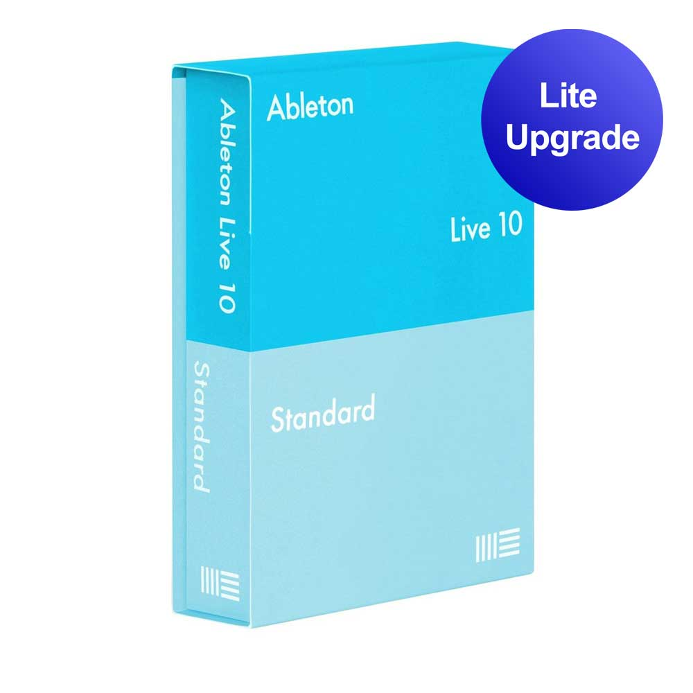 Ableton Live 10 Standard upgrade from Live Lite software