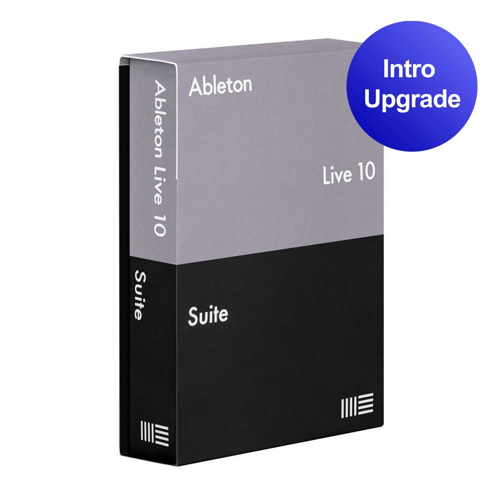 Ableton Live 10 Suite upgrade from Live Intro software