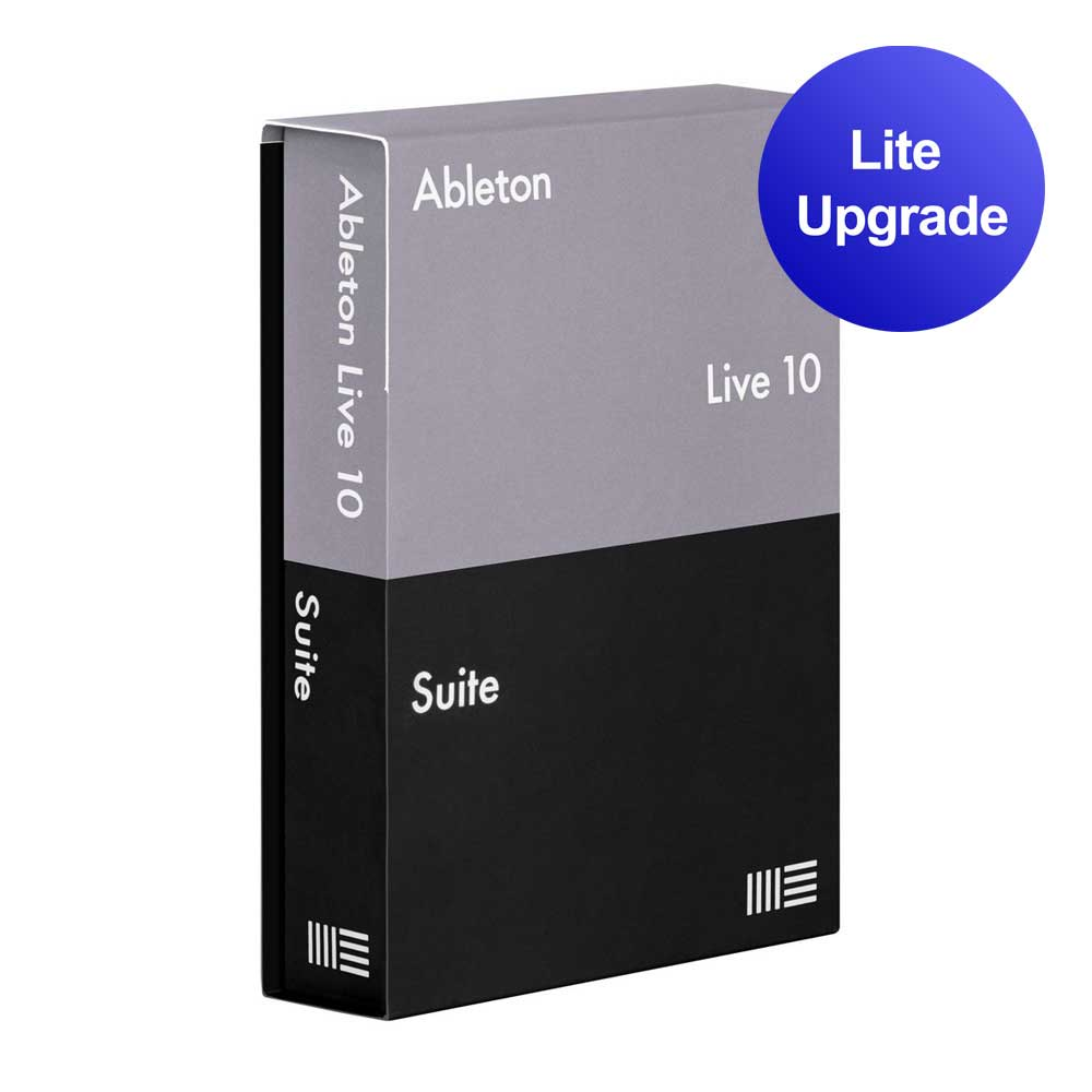 Image of   Ableton Live 10 Suite upgrade from Live Lite software