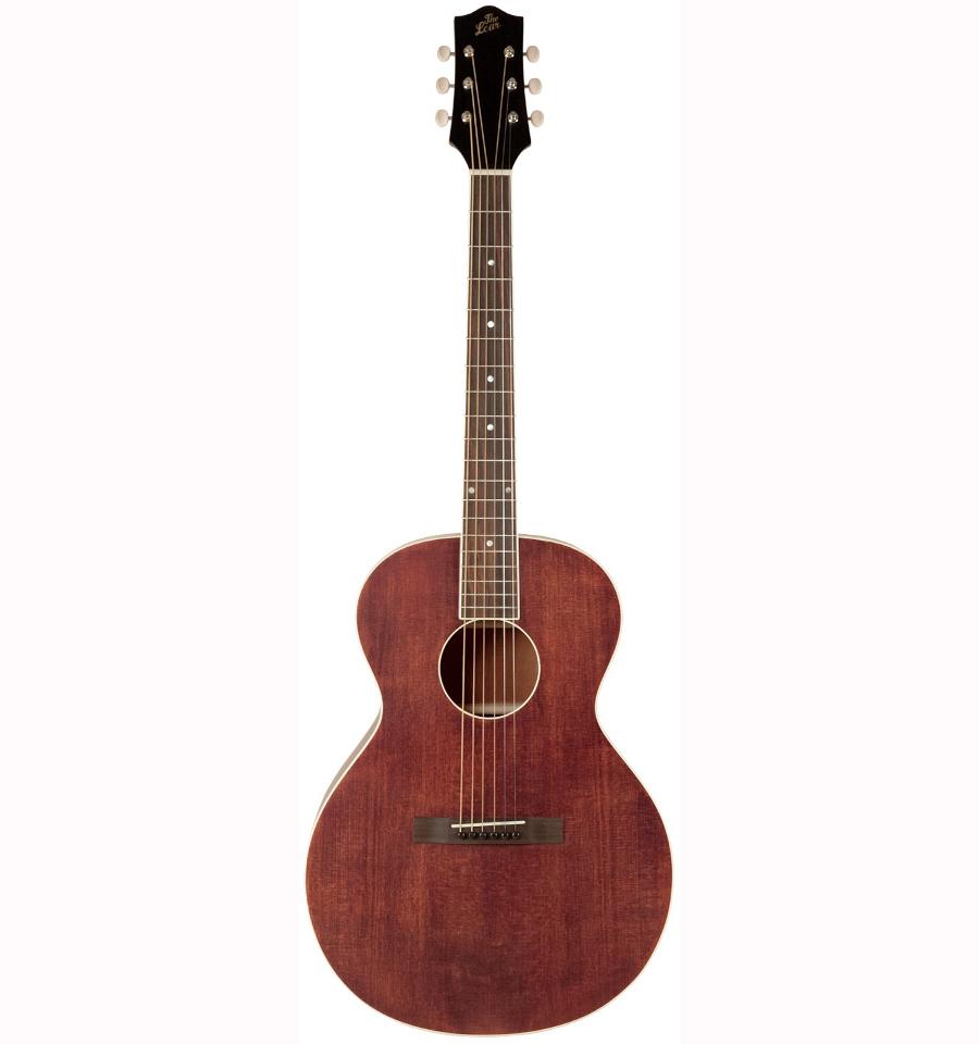The Loar LH-204 BR western-guitar satin brown