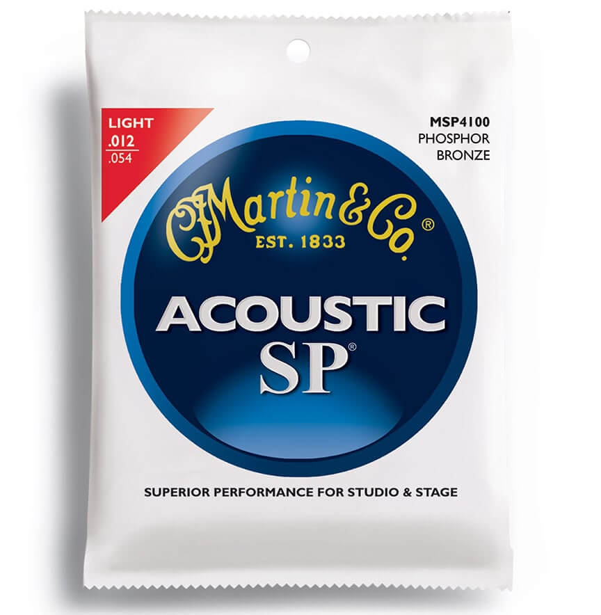 Image of   Martin MSP4100 western-guitar-strenge,light
