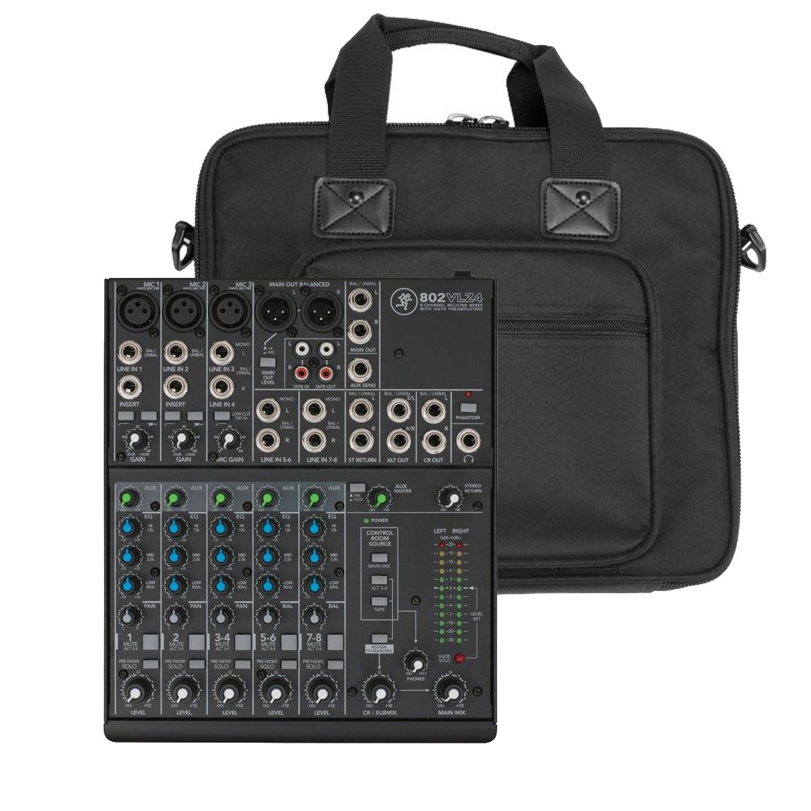 Mackie 802 VLZ4 mixer + taske