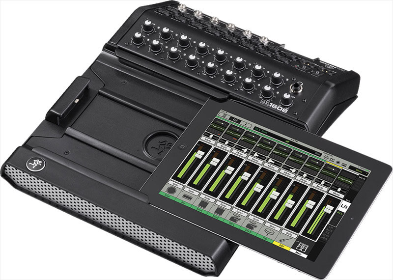 Mackie DL1608-Lightning digitalmixer