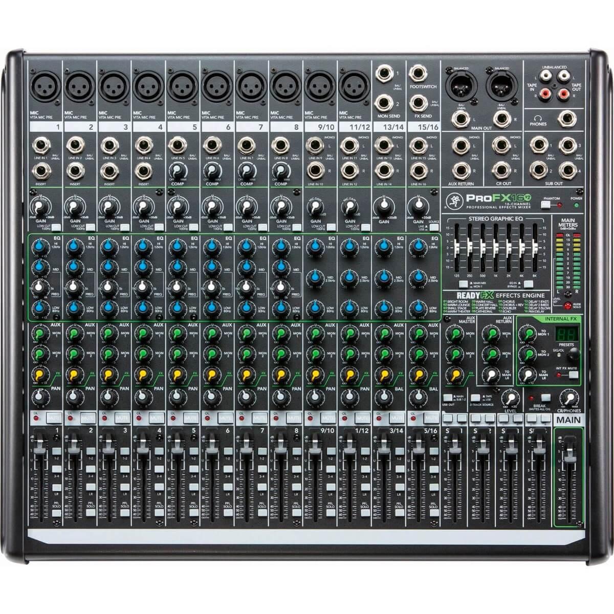 Mackie ProFX16v2 mixer