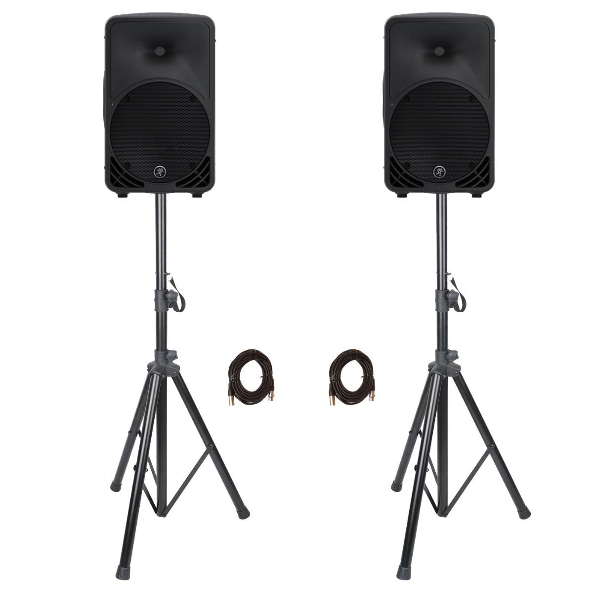 Image of   Mackie SRM350 v3 aktiv højttaler aktiv sæt