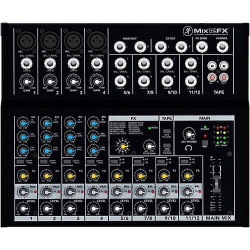 Mackie Mix12FX mixer