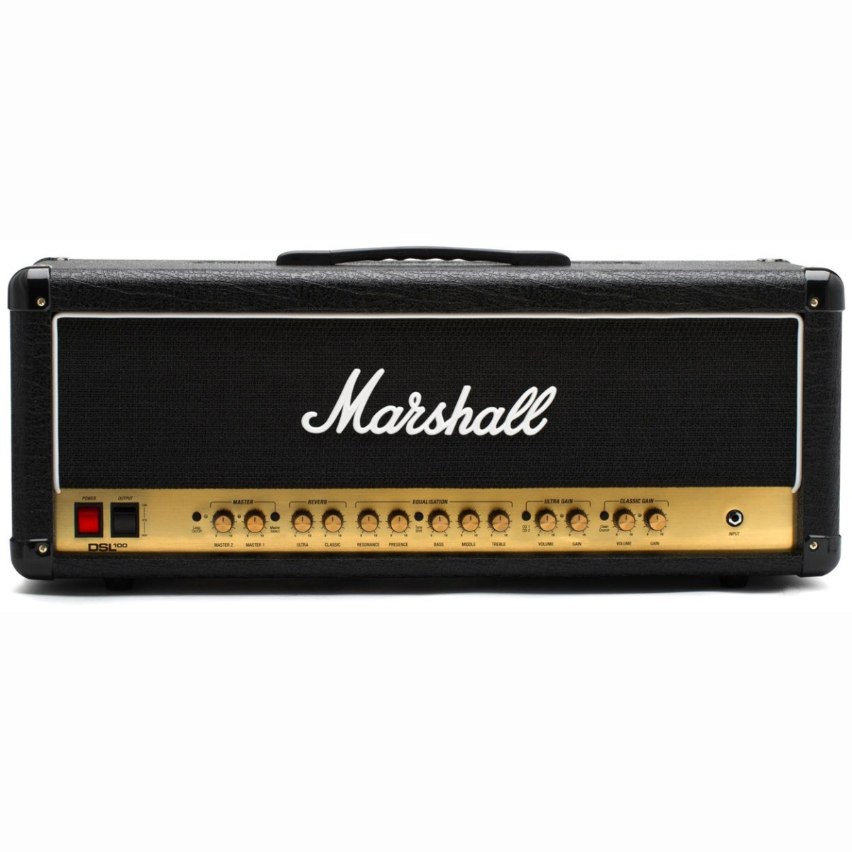 Image of   Marshall DSL100HR guitarforstærker-top
