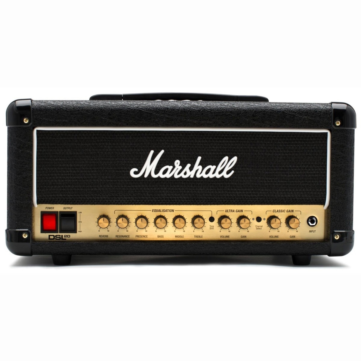 Marshall DSL20HR guitarforstærker-top