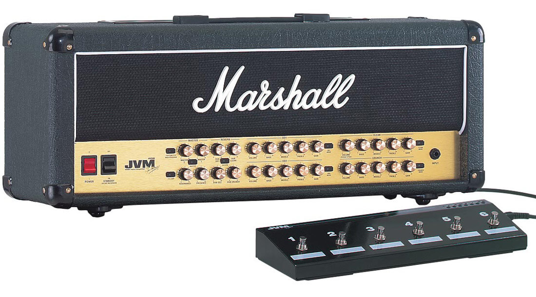 Marshall JVM410H guitarforstærker-top