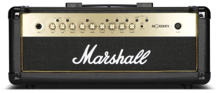 Image of   Marshall MG100HGFX guitarforstærker-top