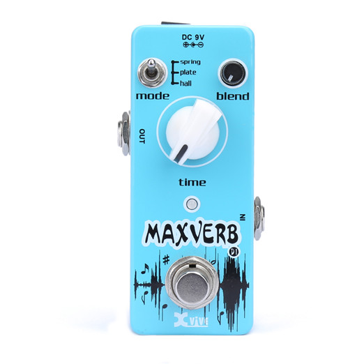 XVive D1 Maxverb guitar-effekt-pedal