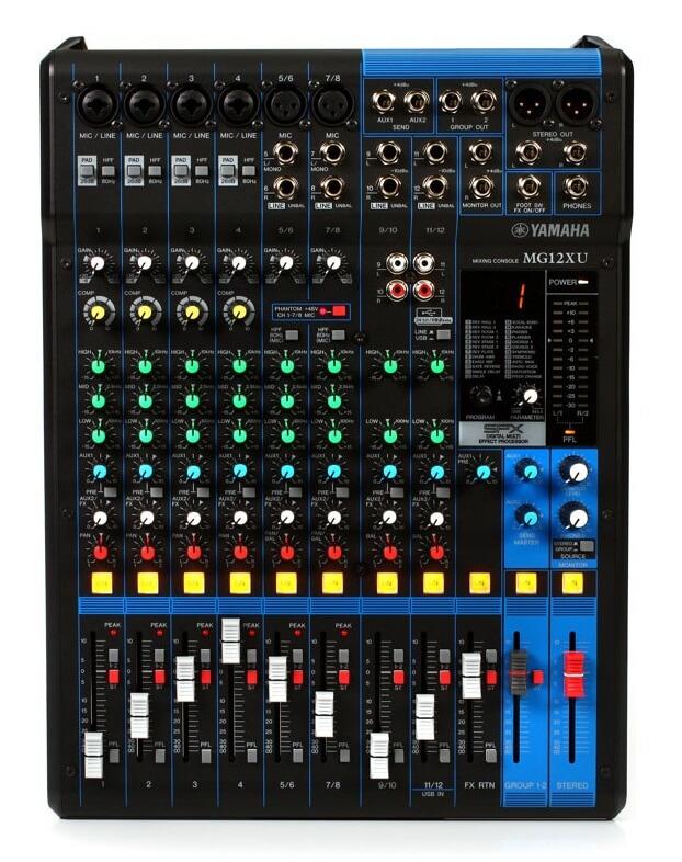 Image of   Yamaha MG12XU mixer