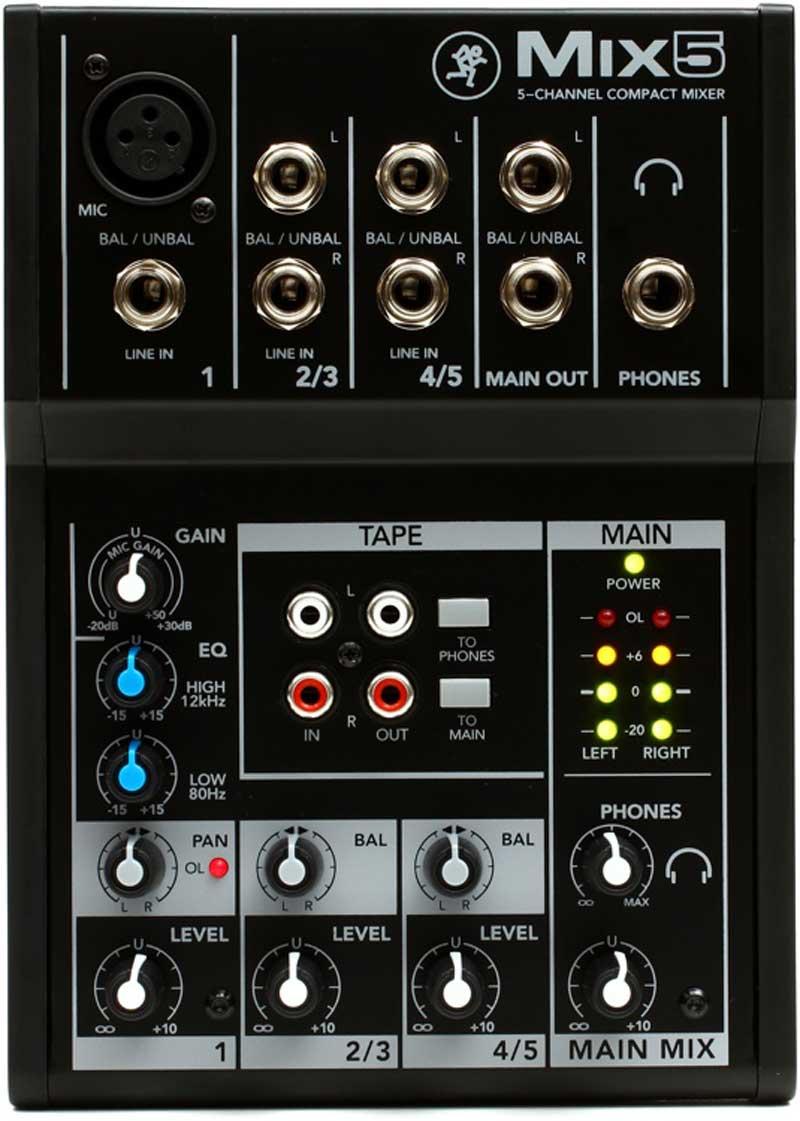Mackie Mix5 mixer