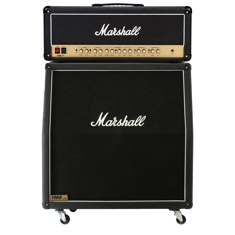 Image of   Marshall DSL100HR guitarforstærker halfstack