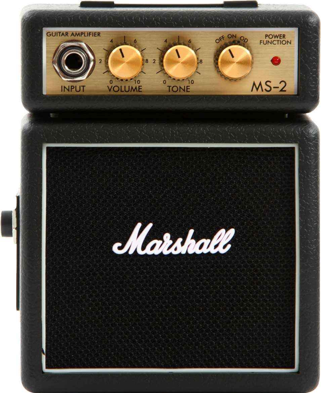 Marshall MS-2 guitarforstærker sort