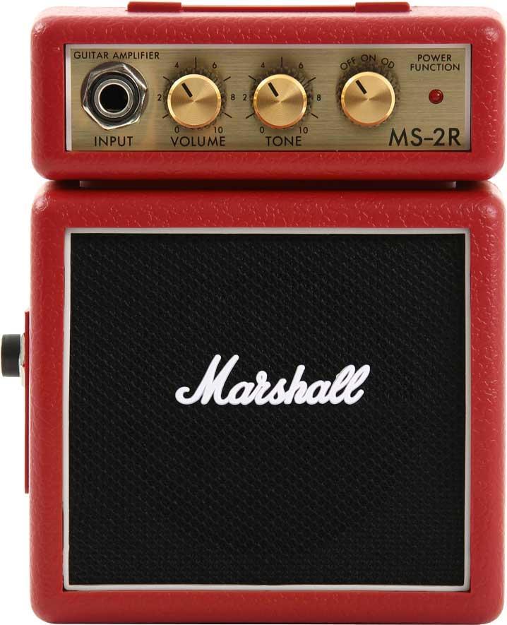 Image of   Marshall MS-2R guitarforstærker rød
