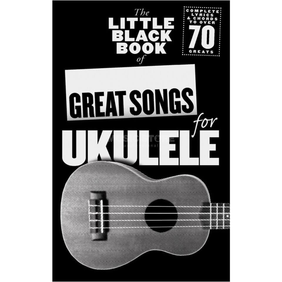 Brand mangler The Little Black Book of Great Songs for Ukulele lærebog