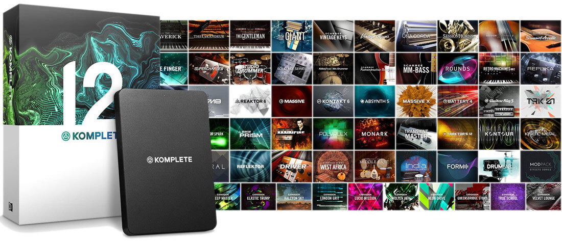 Image of   Native Instruments Komplete 12 Update