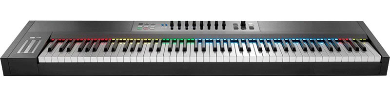 NativeInstruments KompleteKontrolS88 keyboard