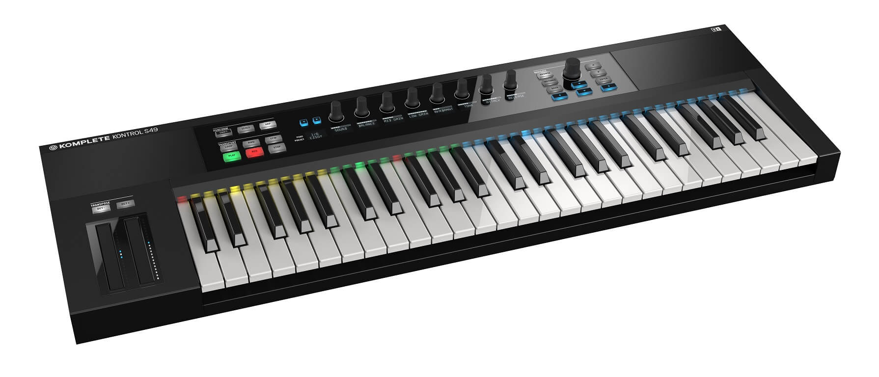 Image of   NativeInstruments KompleteKontrolS49 keyboard