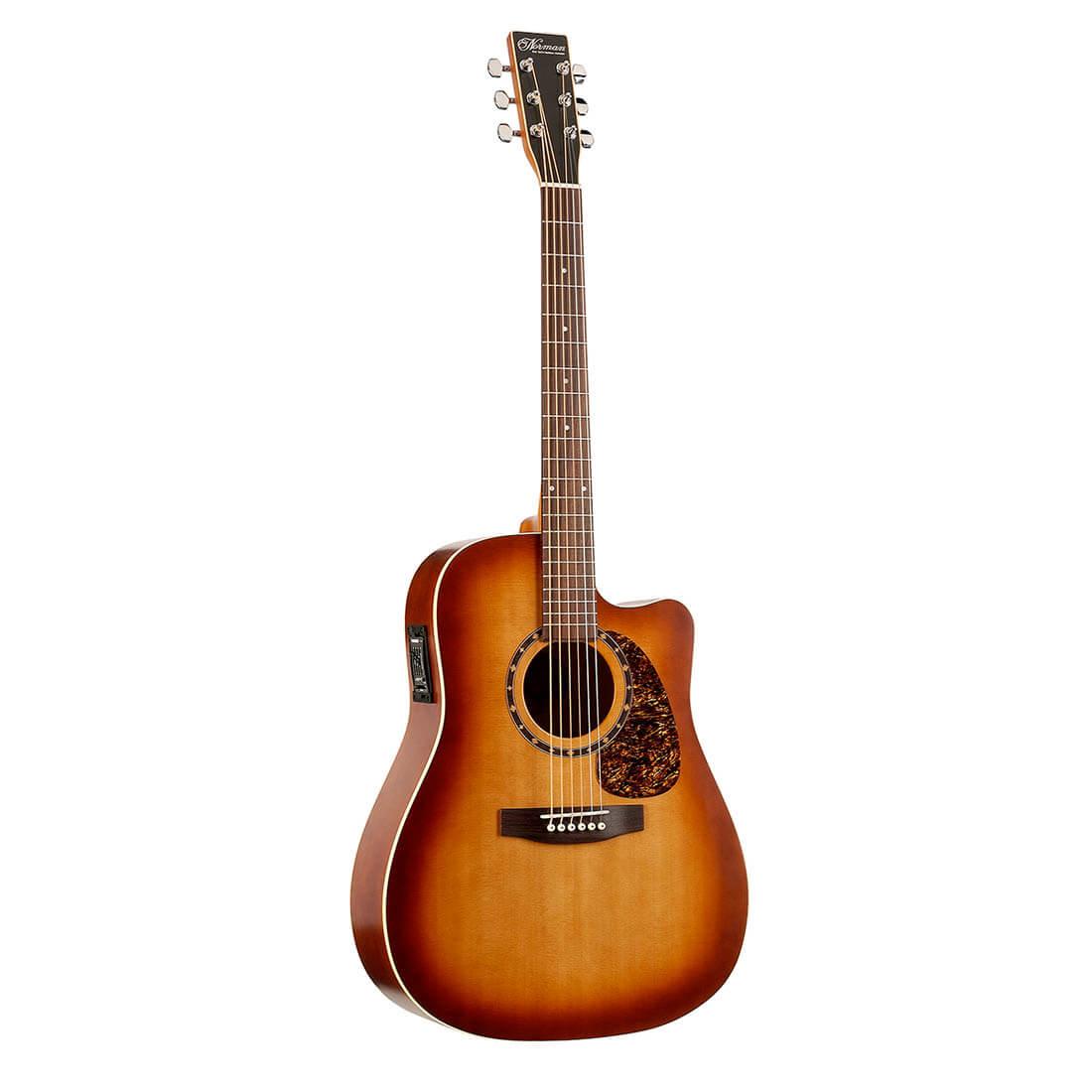 Image of   Norman B18CWCedarPresysProtégé western-guitar tobaccoburst
