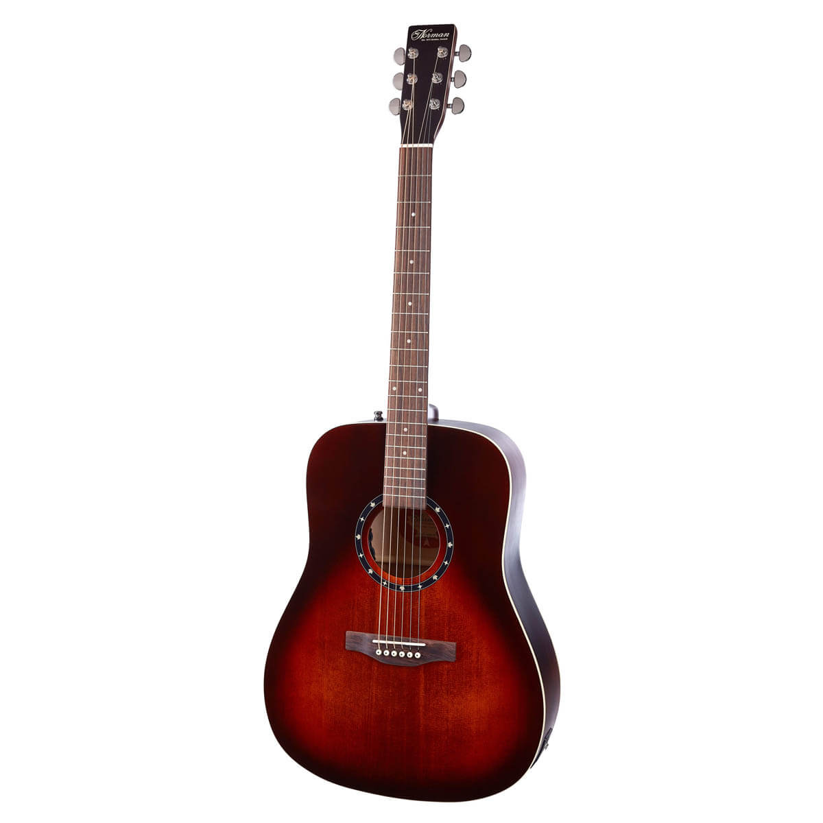 Image of   Norman B20 Encore A/E western guitar burnt umber