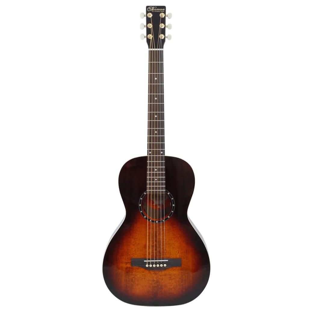 Image of   Norman StudioST40ParlorGHA/E western-guitar burntumber