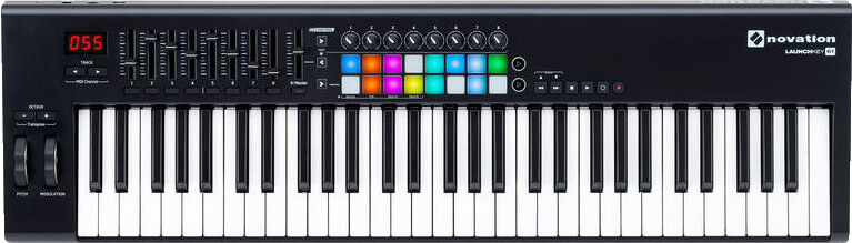 Image of   Novation Launchkey61-MK2 USB-midi-keyboard