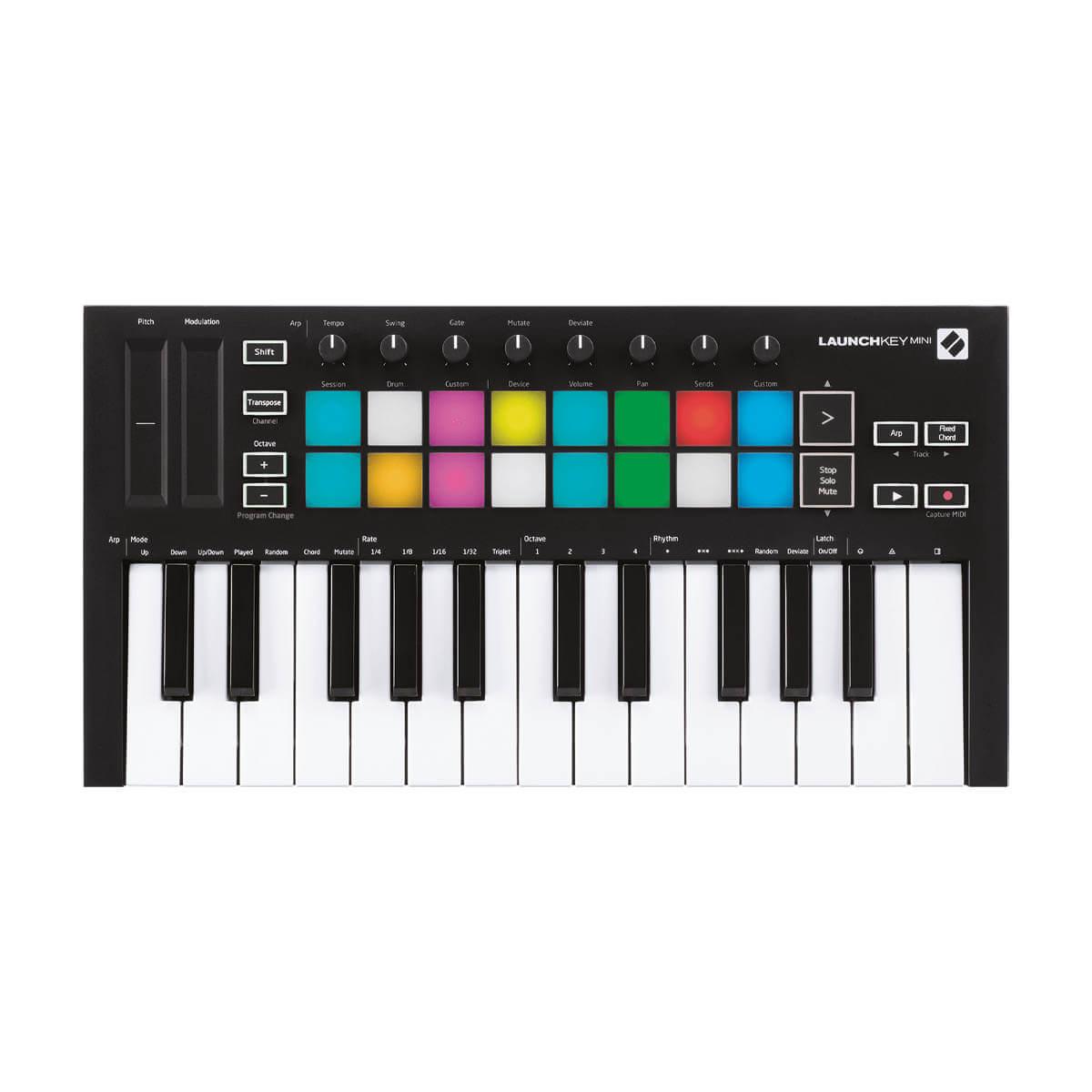 Novation Launchkey Mini-MK3 USB-midi-keyboard