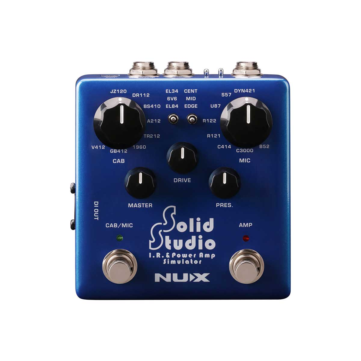 Nux Solid Studio I.R. & power amp simulator