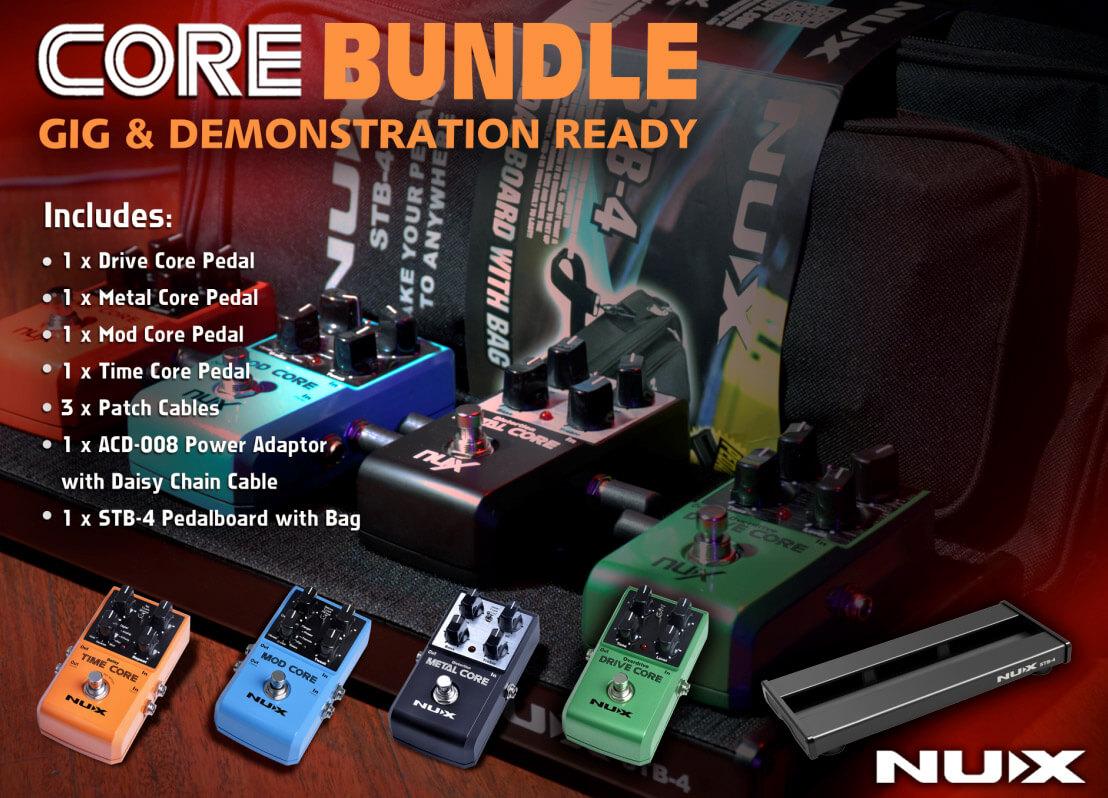 Image of   Nux CoreBundle pedal-pakkeløsning