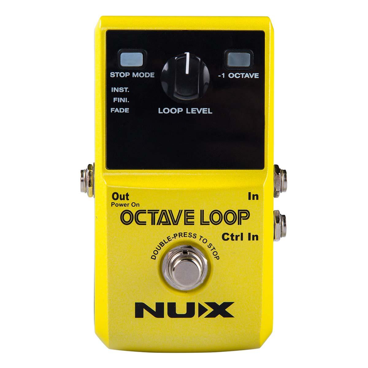 Nux OctaveLoop guitar-effekt-pedal