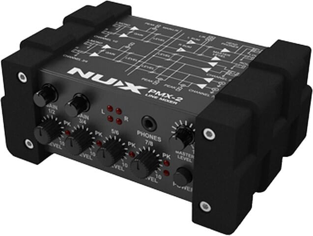 Image of   Nux PMX-2 line-mixer