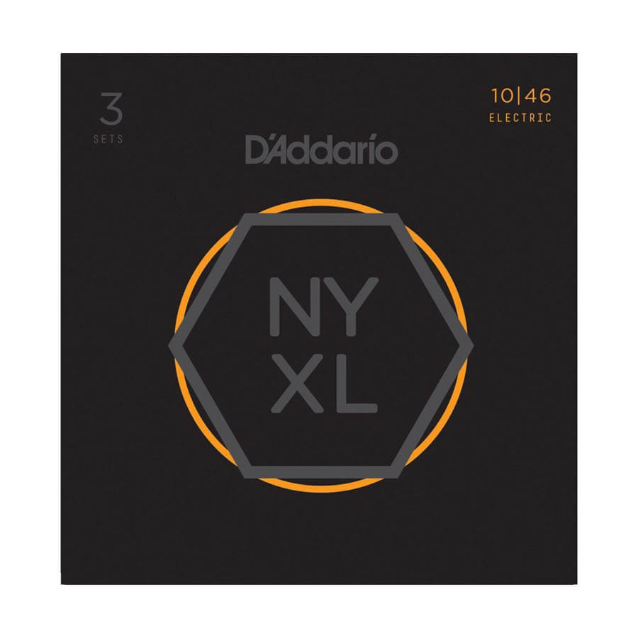 Image of   DAddario NYXL1046-3P el-guitar-strenge, 010-046 (3 sæt)