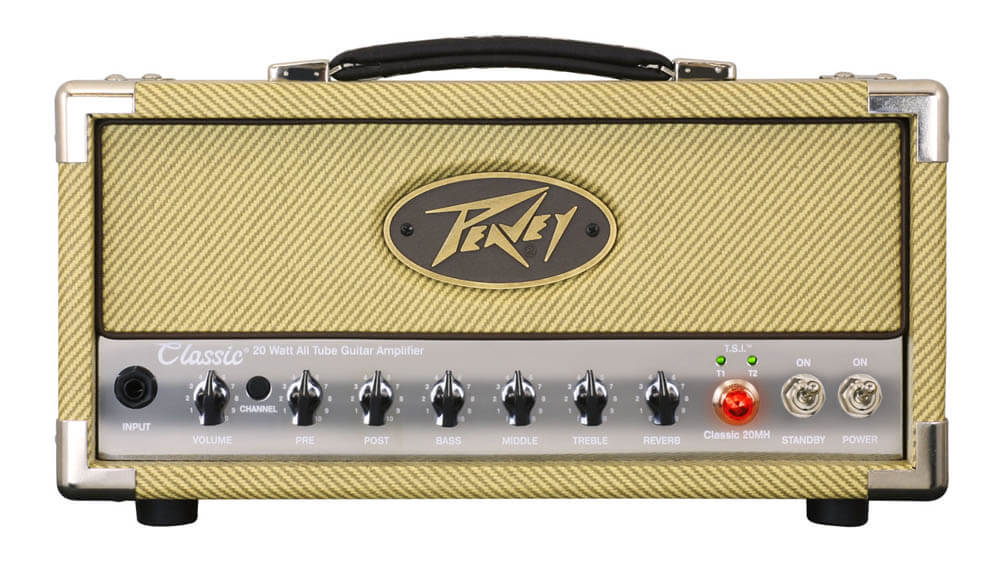 Peavey Classic 20 Mini Head guitarforstærker-top