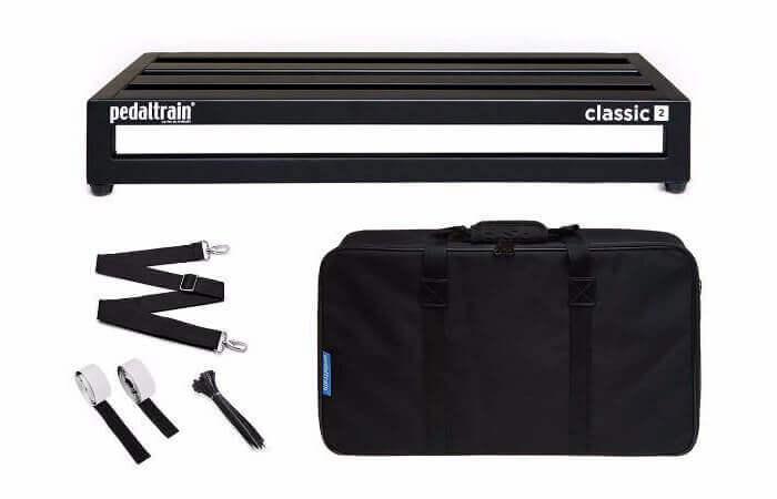 Pedaltrain Classic 2 SC pedalboard med taske