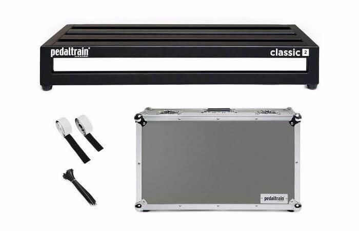 Pedaltrain Classic 2 TC pedalboard med kasse