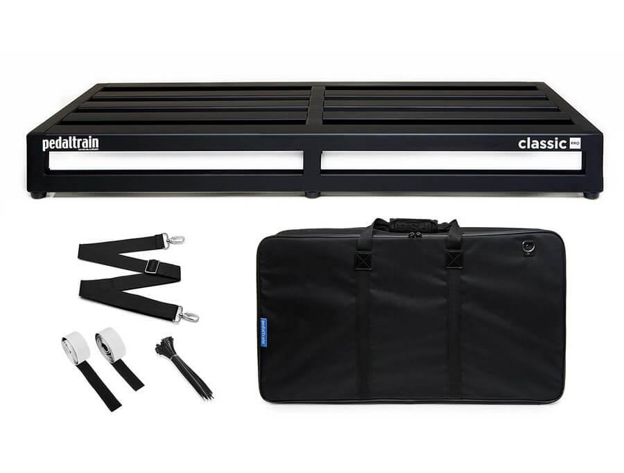Pedaltrain Classic Pro SC pedalboard med taske