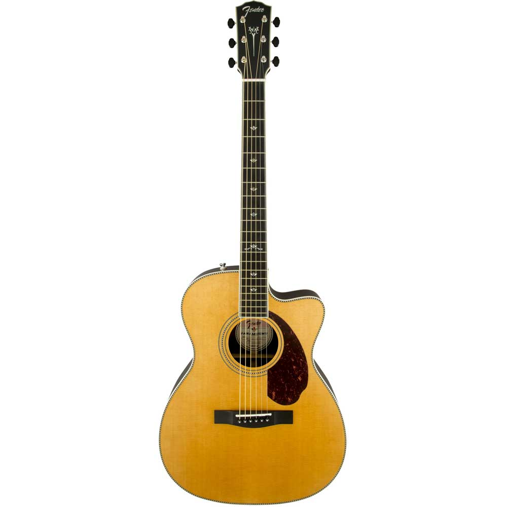 Image of   Fender PM-3CE Deluxe Triple-0, NAT western-guitar