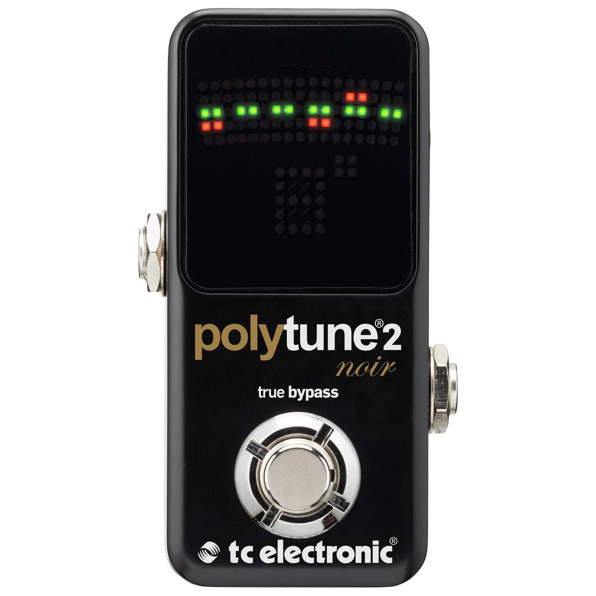 TCElectronic PolyTuneMini2Noir pedaltuner