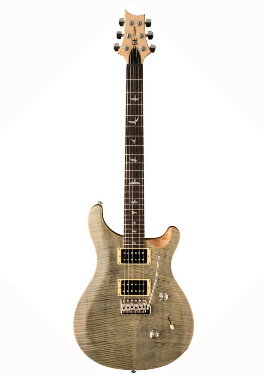 Image of   PRS SE Custom 24 TG el-guitar green trampas