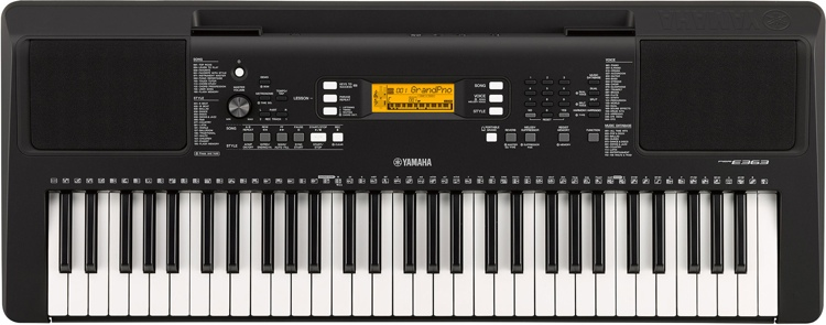 Image of   Yamaha PSR-E363 keyboard