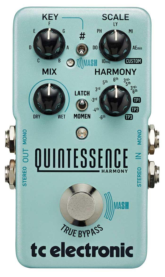 TCElectronic Quintessence Harmoniser guitar-effekt-pedal