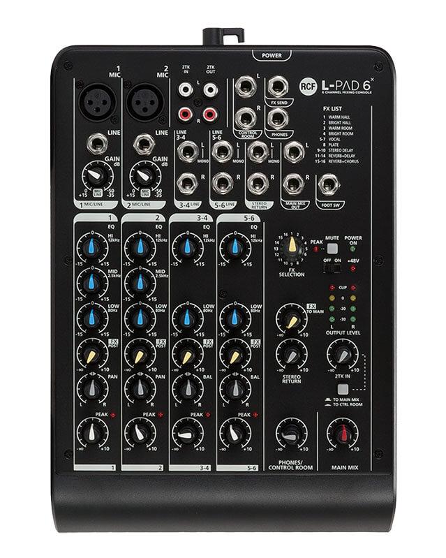 RCF Livepad6X mixer