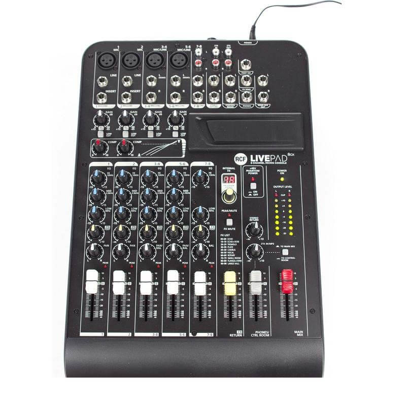 Image of   RCF Livepad8CX mixer