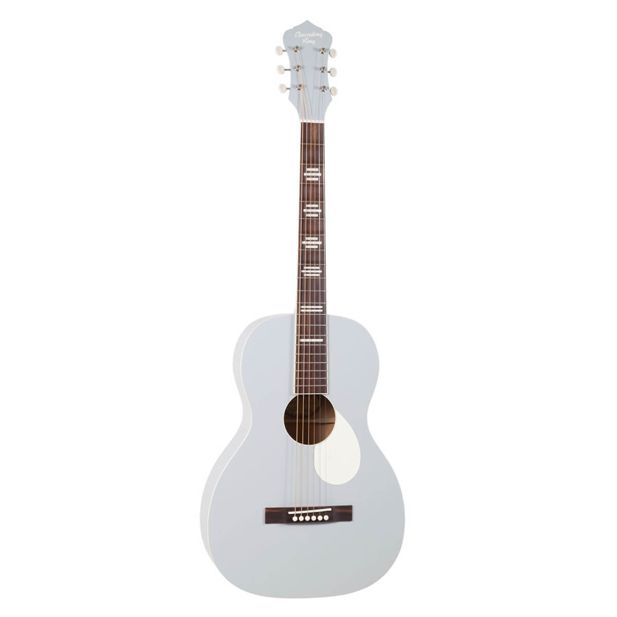 Recording King RPS-7 GY western-guitar matte grey
