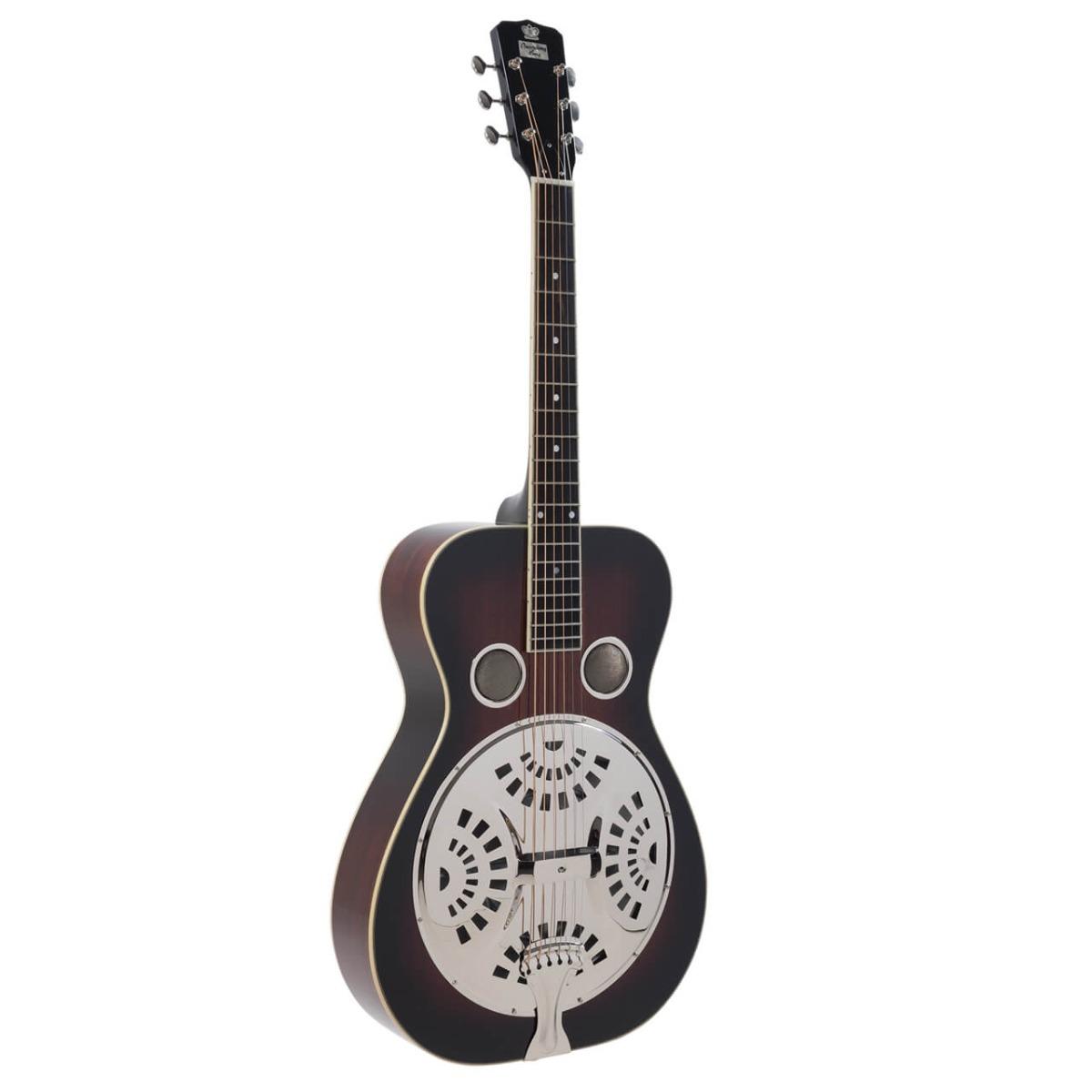 Recording King RR-50 VS resonator-guitar Vintage Sunburst